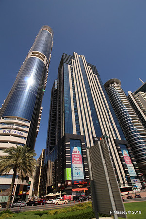 Latifa Towers Sheikh Zayed Rd Skyscrapers Dubai PDM 24-03-2016 10-20-41