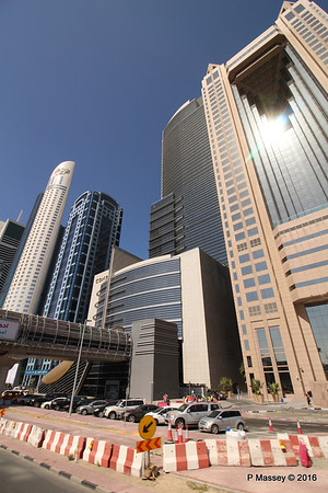 Fairmont Hotel Sheikh Zayed Rd Skyscrapers Dubai PDM 24-03-2016 10-20-01