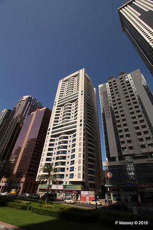 Al Safa Tower Al Zabeel Tower Sheikh Zayed Rd Skyscrapers Dubai PDM 24-03-2016 10-21-12