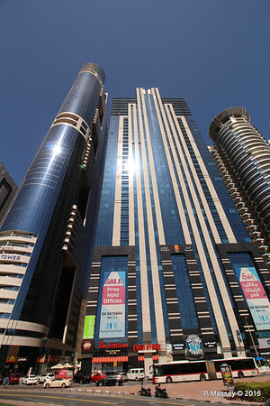 Latifa Towers Sheikh Zayed Rd Skyscrapers Dubai PDM 24-03-2016 10-20-39