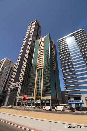 Al Manal Tower Millennium Plaza Hotel Sheikh Zayed Rd Skyscrapers Dubai PDM 24-03-2016 10-21-04