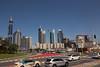 Sheikh Zayed Rd Skyscrapers Conrad Ibis One Central from Al Sa'ada Rd Dubai PDM 24-03-2016 10-50-58