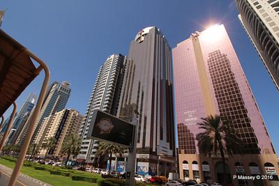 Al Moosa Tower 1 & 2 Sheikh Zayed Rd Skyscrapers Dubai PDM 24-03-2016 10-21-17