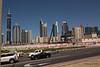 Sheikh Zayed Rd Skyscrapers Conrad Ibis One Central from Al Sa'ada Rd Dubai PDM 24-03-2016 10-51-07