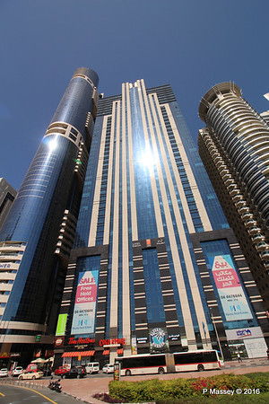 Latifa Towers Sheikh Zayed Rd Skyscrapers Dubai PDM 24-03-2016 10-20-38