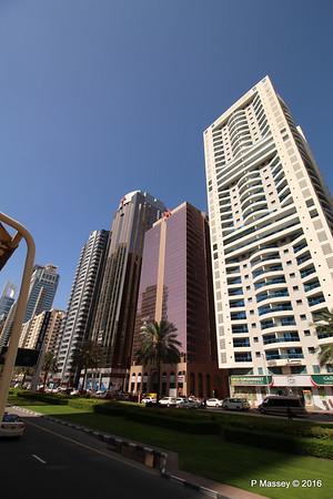 Al Zabeel Tower Al Moosa Tower 1 & 2 Sheikh Zayed Rd Skyscrapers Dubai PDM 24-03-2016 10-21-13
