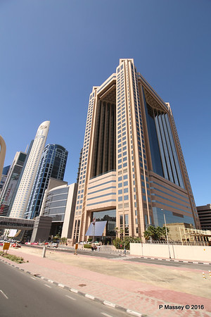 Fairmont Hotel Sheikh Zayed Rd Skyscrapers Dubai PDM 24-03-2016 10-19-57
