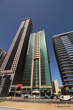 Al Manal Tower Millennium Plaza Hotel Sheikh Zayed Rd Skyscrapers Dubai PDM 24-03-2016 10-21-05