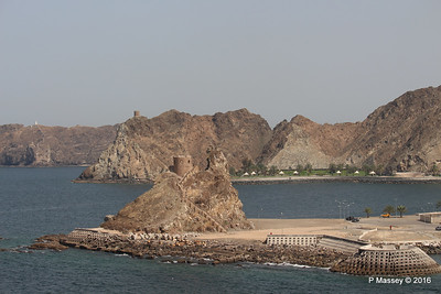 Old Fort Watch Tower Corniche Muttrah Muscat PDM 21-03-2016 14-06-26