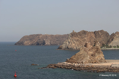 Old Fort Watch Tower Corniche Muttrah Muscat PDM 21-03-2016 14-06-28