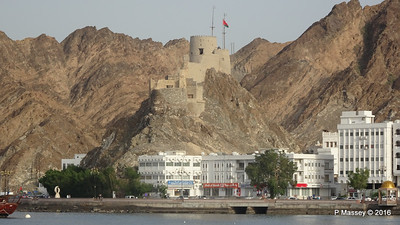 Fortification above Muttrah Muscat PDM 20-03-2016 16-54-54