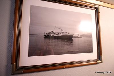 LOFOTEN 1964 Alesund on Maiden Voyage 6 Mar 1964 Boat Deck Cabin Hallway 500 - 501 PDM 27-07-2016 13-35-15