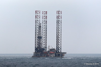 PARAGON C461 Jackup Rig Under Tow North Sea PDM 16-07-2016 14-05-24
