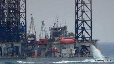 PARAGON C461 Jackup Rig Under Tow North Sea PDM 16-07-2016 13-05-34