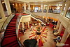 Grand Lobby QUEEN MARY 2 Reception Deck 2 Mayfair Shops Deck 3 16-07-2016 09-37-02