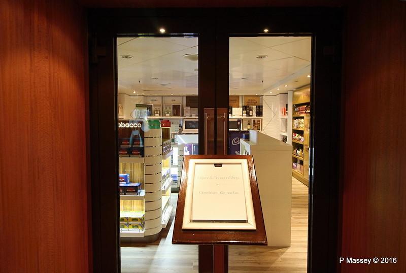 Liquor & Tobacco Shop Closed re German Tax QUEEN MARY 2 16-07-2016 09-34-49