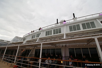 Looking Up from Deck 8 Aft Terrace Pool QM2 15-07-2016 17-54-02