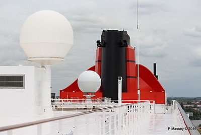 """QUEEN MARY 2 """"Remastered"""" On Deck Jul 2016"""