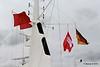 Mast QM2 Flags German Hamburg Cunard House 15-07-2016 16-12-09
