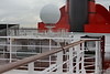Railing of Walkway over New Cabins to Funnel Deck 14 QM2 15-07-2016 09-17-026