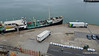 Lorries Delivering Stores QM2 ss SHIELDHALL Ocean Terminal Southampton PDM 17-07-2016 07-14-01