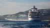 CELESTYAL OLYMPIA ROYAL PRINCESS from Tender Mykonos PDM 16-06-2017 17-04-13
