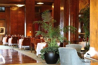 Sir Winston's Restaurant Temporary Royal Salon Promenade Deck QUEEN MARY Long Beach 19-04-2017 17-04-25