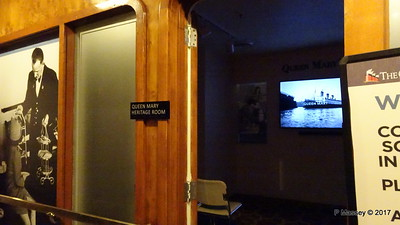 Heritage Room Promenade Deck Port Fwd QUEEN MARY Long Beach 19-04-2017 17-05-17