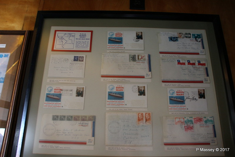 Final Cruise Mail 31 Oct 1967 Ship Communications Exhibit QUEEN MARY Long Beach 19-04-2017 16-38-021