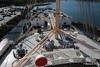 Forecastle Well Deck 3rd Class Passenger Deck around Mast QUEEN MARY Long Beach 19-04-2017 16-34-032