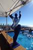 Blue Lady Sculpture Horizon Pool Deck 16 Aft MSC MERAVIGLIA PDM 06-07-2017 08-40-51