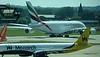 Monarch A321 G-ZBAM Emirates A380 A6-EEB LGW PDM 02-07-2017 16-02-54