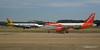 Monarch A320 G-OZBW easyJet A319 G-EZL LGW PDM 07-07-2017 16-58-50
