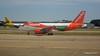 Monarch A320 G-OZBW easyJet A319 G-EZL LGW PDM 07-07-2017 16-58-45
