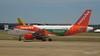 Monarch A320 G-OZBW easyJet A319 G-EZL LGW PDM 07-07-2017 16-58-42