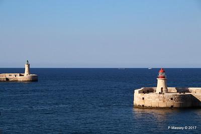 Ricasoli & St Elmo Lights Entrance Grand Harbour Valletta PDM 05-07-2017 17-05-31