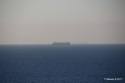 Very distant EUKOR Vehicles Carrier & further out Unknown Container Ship off Valletta PDM 05-07-2017 18-38-04