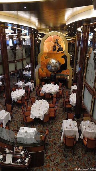 Britannia Restaurant Decks 2 & 3 Aft QUEEN VICTORIA PDM 06-01-2018 15-14-50