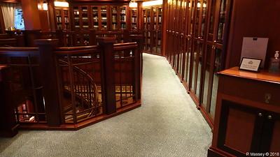 Library Decks 2 & 3 Midships Port QUEEN VICTORIA PDM 05-01-2018 22-01-19