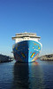 NORWEGIAN BREAKAWAY Arrives New York PDM phone 10-05-2013 06-58-06