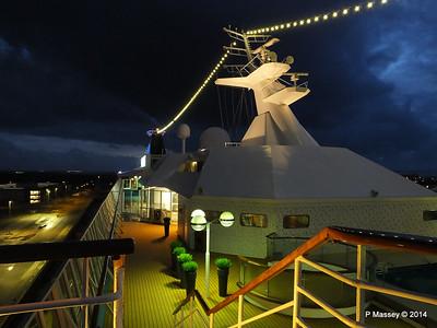 Mast from Observation Platform Fwd night Ijumuiden ARTANIA PDM 15-12-2014 16-10-20
