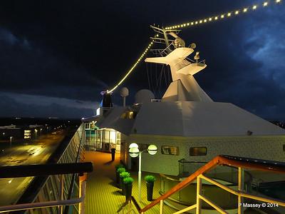 Mast from Observation Platform Fwd night Ijumuiden ARTANIA PDM 15-12-2014 16-10-18