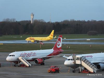 Aircraft at HAM 13 & 17 Dec 2014