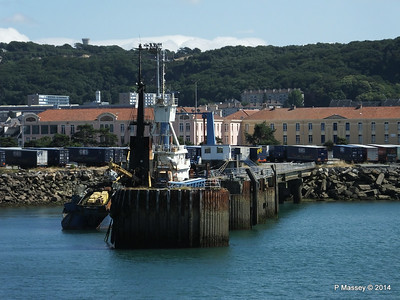 MARGINELLA Abandoned Tuna Trawler since 2007 after fire Cherbourg 2007 14-07-2014 15-59-17