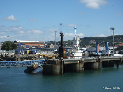 MARGINELLA Abandoned Tuna Trawler since 2007 after fire Cherbourg 2007 14-07-2014 15-58-32