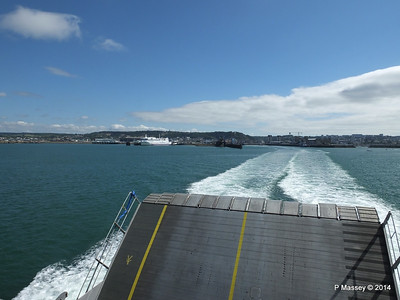 Departing Cherbourg aboard NORMANDIE EXPRESS PDM 14-07-2014 16-02-48