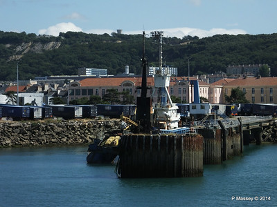 MARGINELLA Abandoned Tuna Trawler since 2007 after fire Cherbourg 2007 14-07-2014 15-59-14