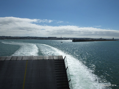 Departing Cherbourg aboard NORMANDIE EXPRESS PDM 14-07-2014 16-04-19