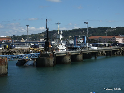 MARGINELLA Abandoned Tuna Trawler since 2007 after fire Cherbourg 2007 14-07-2014 15-58-37