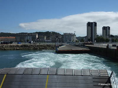 Departing Cherbourg aboard NORMANDIE EXPRESS PDM 14-07-2014 15-58-16